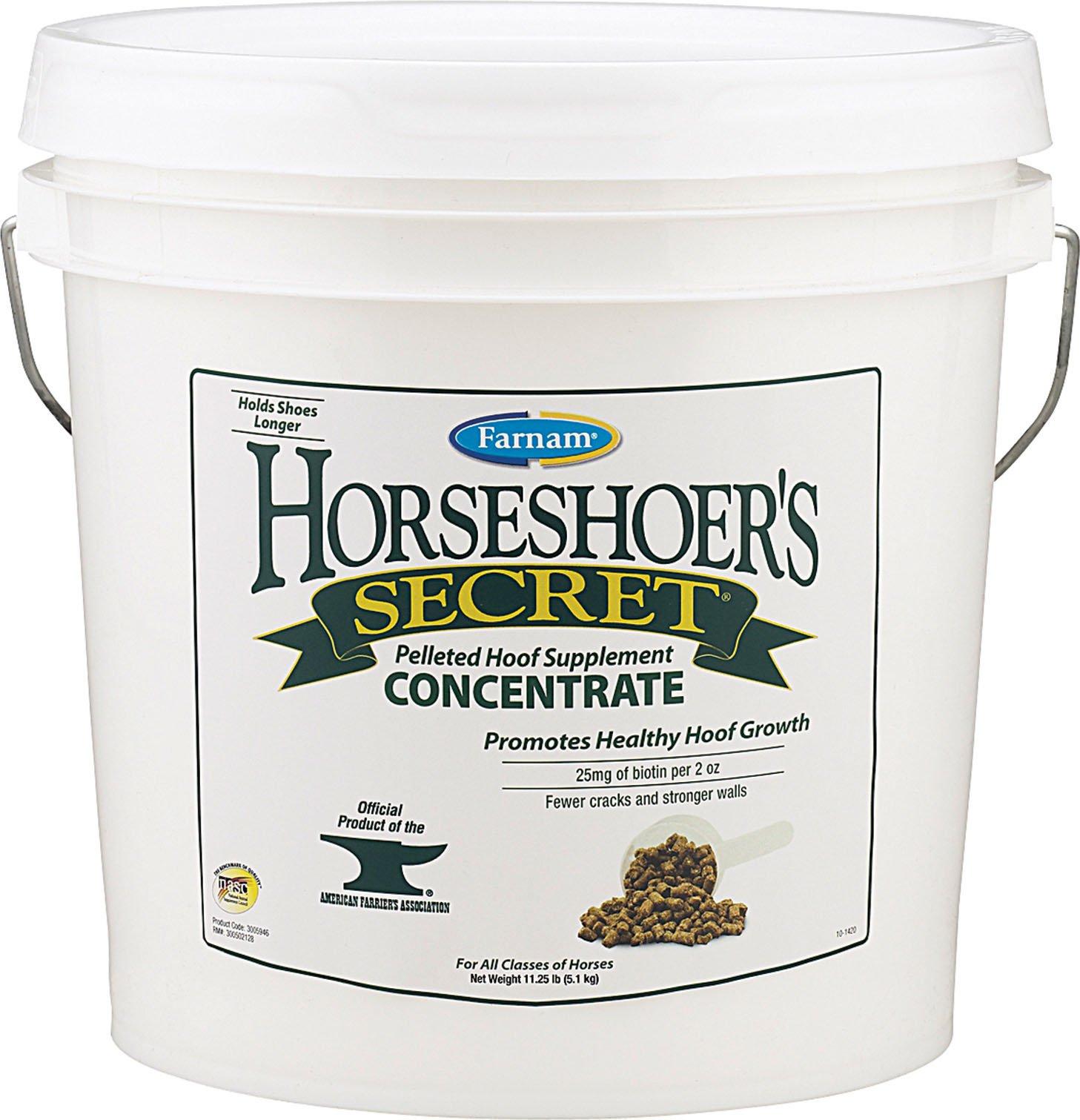 Farnam Horseshoer's Secret Hoof Supplement Concentrate, 11 Pound