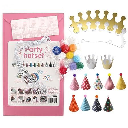 AllRight - Set de fiesta de cumpleaños corona sombreros de ...