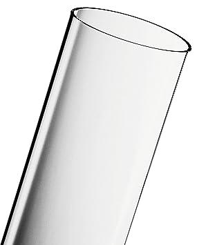 ACTIVA Duran Schott - Tubo de vidrio para estufa de gas de exterior, transparente: Amazon.es: Jardín
