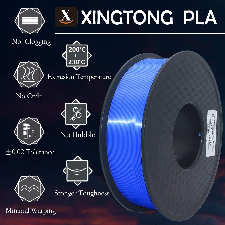 Bobina 1000 gr Winkle Filamento PLA HD Naranja Fluorescente 1.75 mm Filamento para Impresi/ón 3D