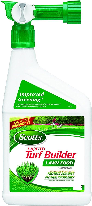 Scotts Liquid Turf Builder Lawn Food 32 oz.