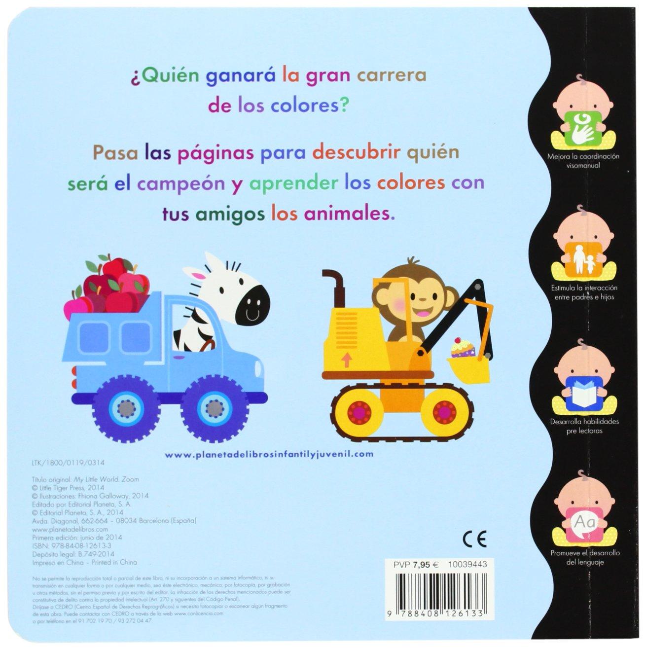 Mi pequeño mundo. Colores (Spanish Edition): Planeta, Timunmas: 9788408126133: Amazon.com: Books