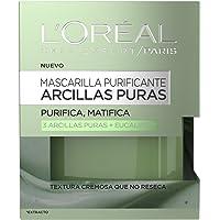 L'Oreal Paris Dermo Expertise Mascarilla Purificante, Arcillas Puras, Purifica y Matifica - 50 ml