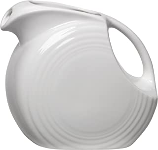 product image for Fiesta 67-1/4-Ounce Large Disk Pitcher, White