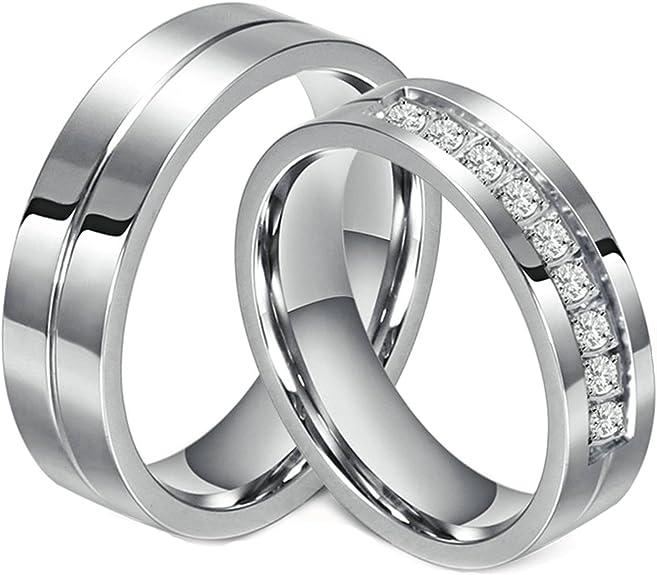 dos anillos de plata