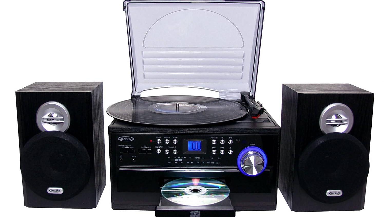 Amazon.com: Jensen All-in-One Hi-Fi estéreo reproductor de ...