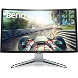 BenQ EX3200R 32 Inch FHD 144Hz Curved Gaming Monitor, 1800R, Low Blue Light, Flicker-free, HDMI, Display Port