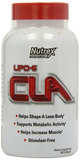 Nutrex Lipo-6 CLA - 180 Capsules Sports Supplements at amazon