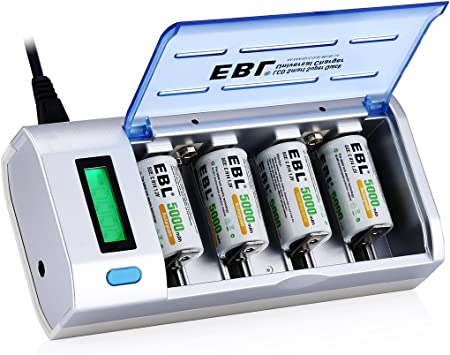 Amazon.com: EBL 906 cargador inteligente para baterí ...