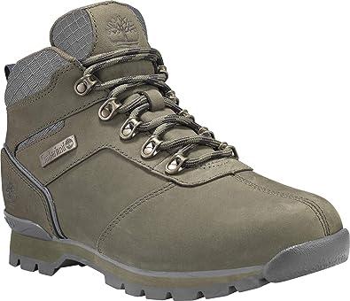 Timberland Splitrock 2 Hiker Shoes Men Dark Green Nubuck