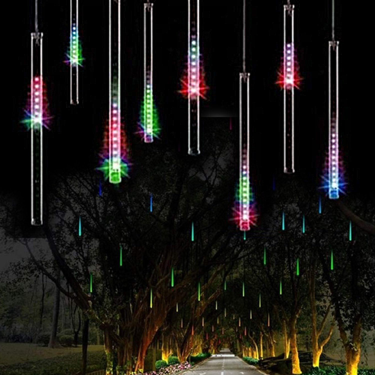 Waterproof Cascading LED Christmas Lights