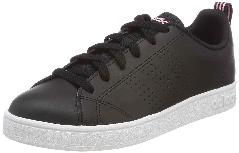 adidas Vs Advantage CL W, Zapatillas de Deporte Para Mujer 38 EU|Negro (Negbas / Negbas / Rossua 000)