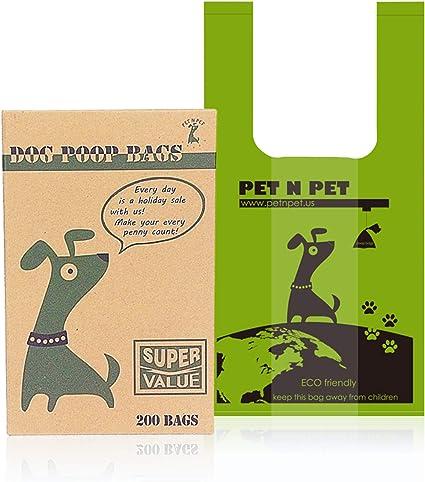 "2000 Yellow Newspaper//Dog Waste Poop Bags 5.5""x 19"""
