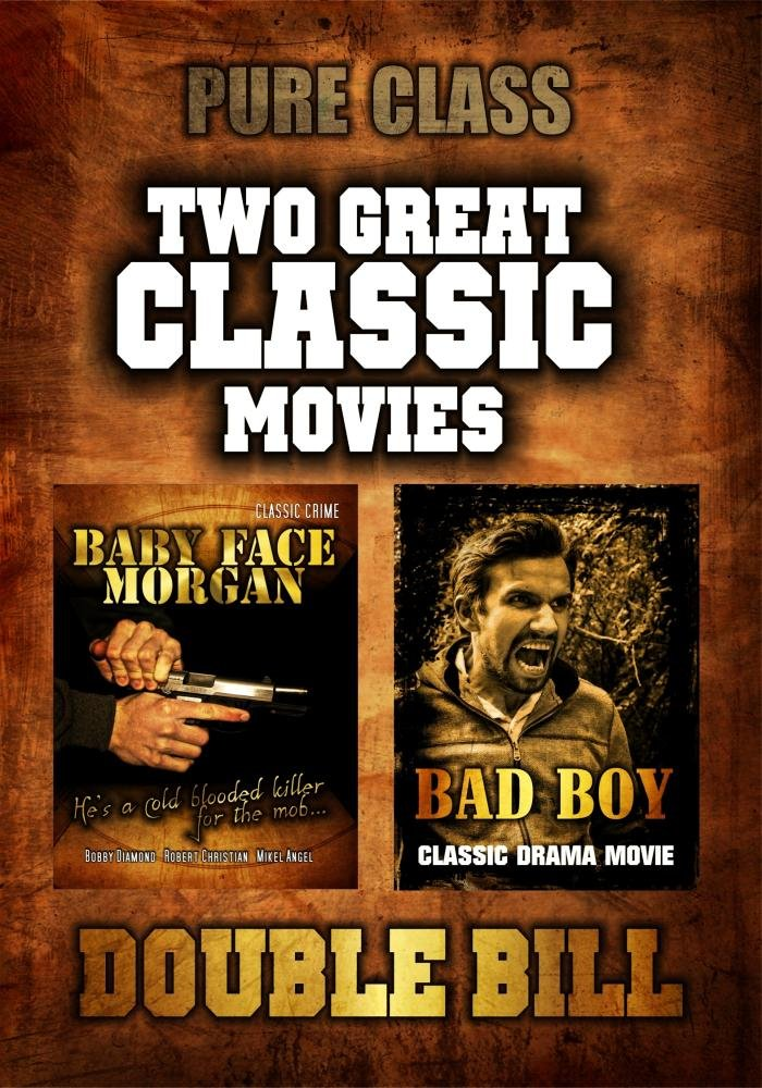 Amazon com: Two Classic Movies: Baby Face Morgan and Bad Boy: Movies