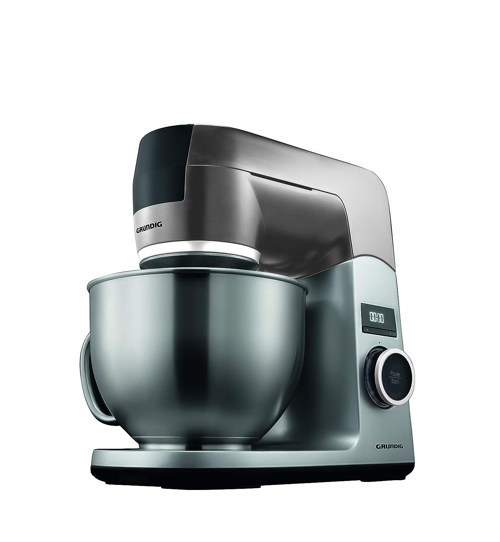 Grundig kmp8650s Robot de cocina, 1000 W, 4,6 L Cuenco Acero ...