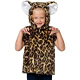 Childs Animal Tabard: Leopard Fancy Dress Costume One Size 3 to 8 years Old (disfraz)