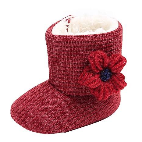 Covermason Botas de nieve para bebé recién nacido, botas de nieve de ...