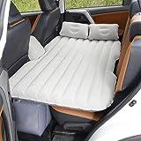 車中泊ベッド エアーマット エアーベッド 車載用マット 付き 車載用マット インフレータブルマットレス 分離可能な SUV車用ベッド