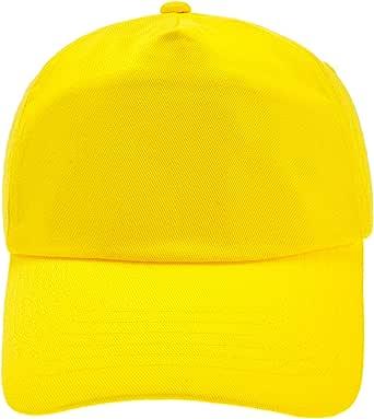 4sold Gorra de béisbol niños y niñas (Amarillo): Amazon.es: Ropa y ...