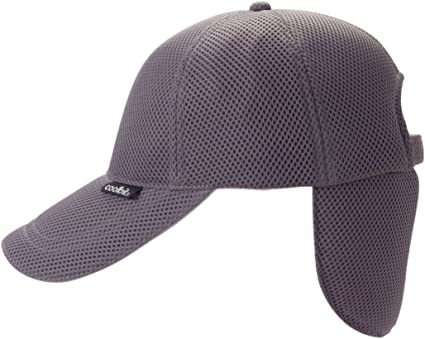 to Counter Heat and Heat Stroke in Summer Outdoor CBSPCP 82 Navy Color US Patented Cap. Soak The Rear Cover Part in Water and get Cool with Vaporization Heat Cool Cap /& Hat COOLBIT Cap