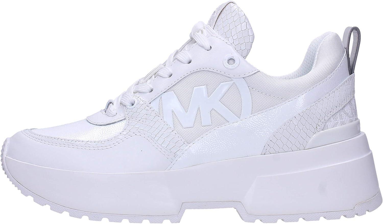 Sneakers Mujeres MICHAEL KORS 43R0BLFE4D White Cuero Tejido Blanco