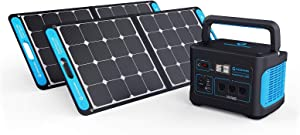 Generark Solar Generator For Homes: Portable Power Station Backup Battery & Solar Panel Power Generator. 1000W-2000W at 110V. Up To 7 Days of Emergency Power Supply. (1x2 (For 1-2 People Family))