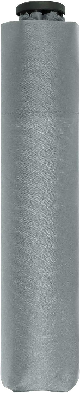 doppler Bolsillo Paraguas Cero,99 - Peso de sólo 99 Gramos - Estable - A Prueba de Viento - 21 cm - Cool Grey