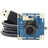 ELP ウェブカメラ 1080P HD画質 200万画素ウェブカムUSB 3.6mmレンズ