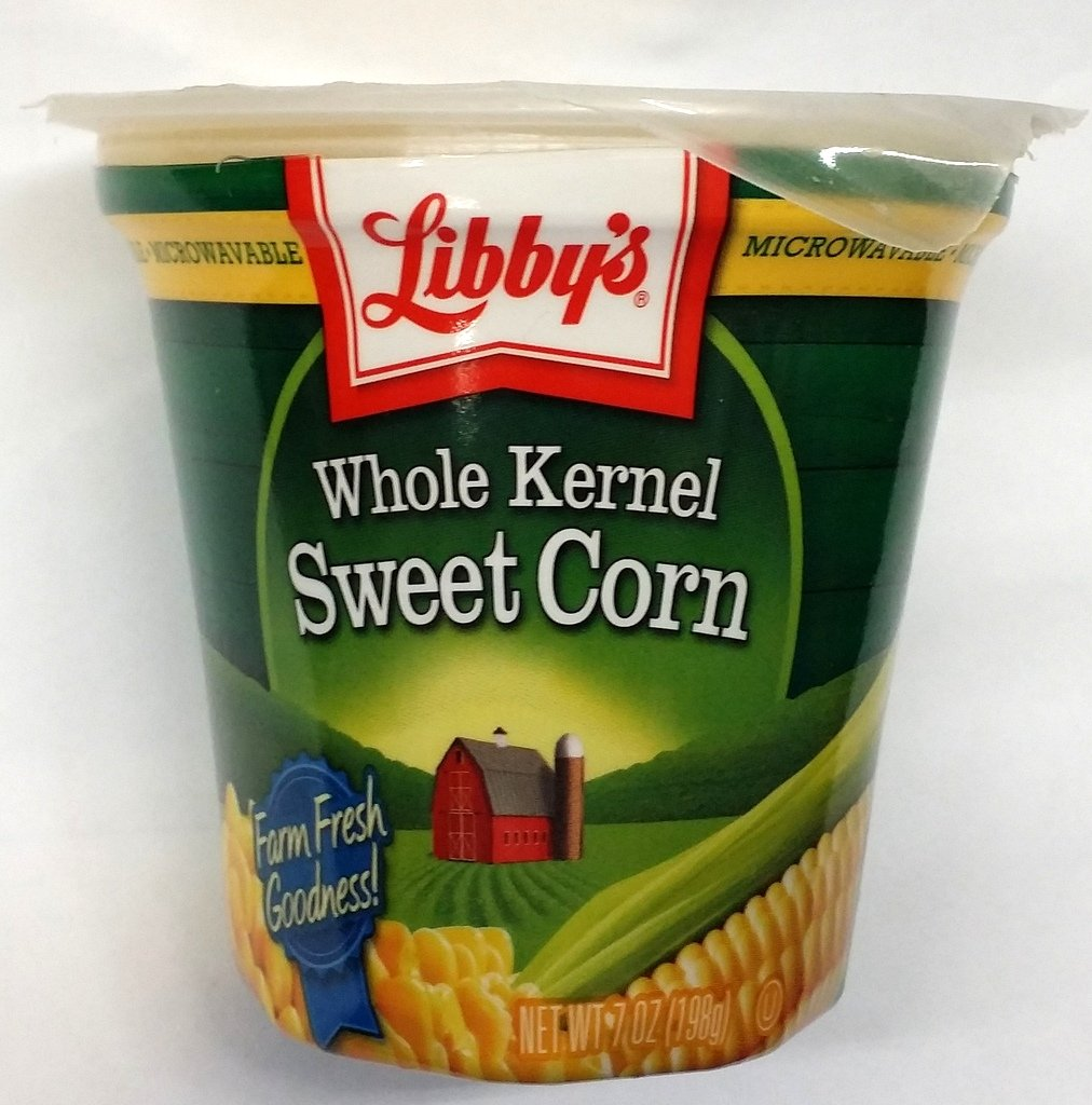 Libby's Microwavable Cups, Sweet Corn 7 Oz (Pack of 6)