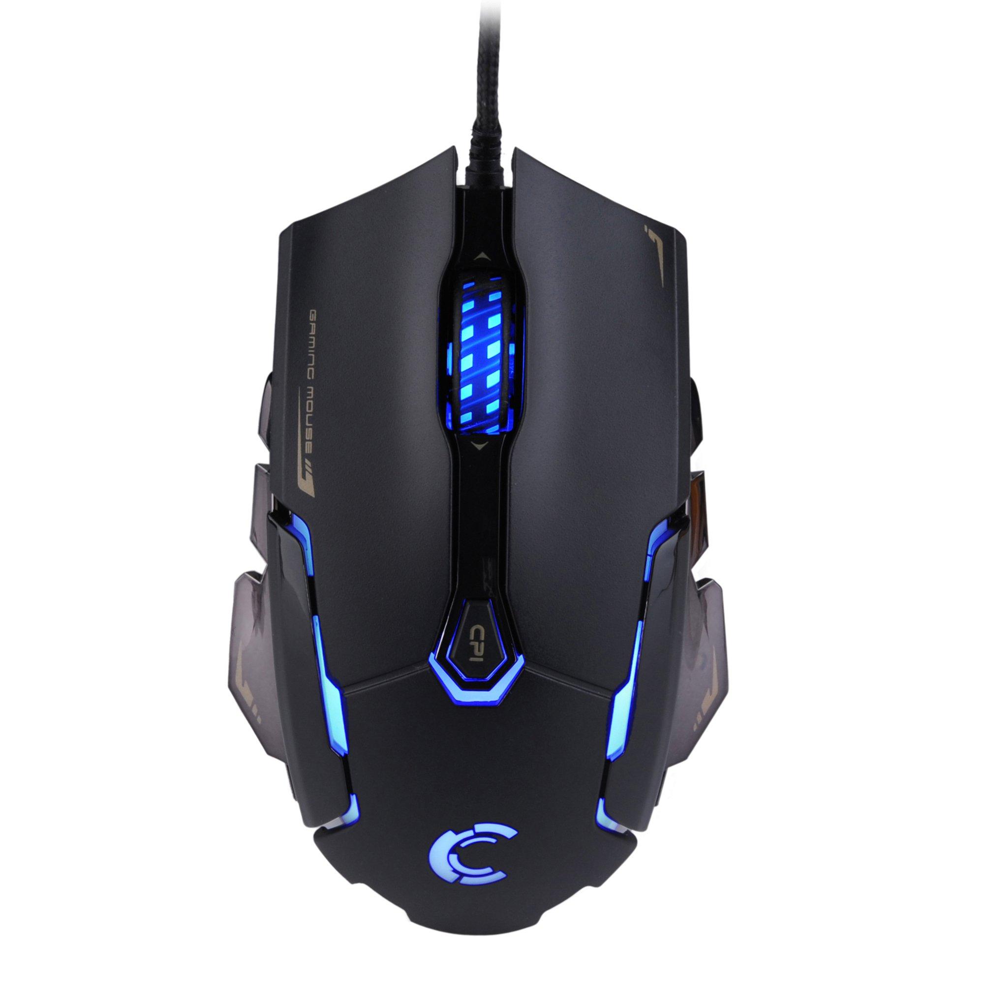 Mouse Gamer : Comanro DM004 LED Rainbow Breathing Color 6 Bo