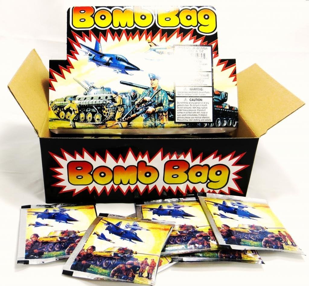 Bomb Bags - Exploding Bag - (1 DOZEN) 12 Pieces by Novelties: Amazon.es: Juguetes y juegos