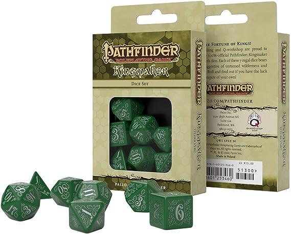 Q-Workshop QWS SPAT27 Pathfinder Second Darkness Dice Set of 7
