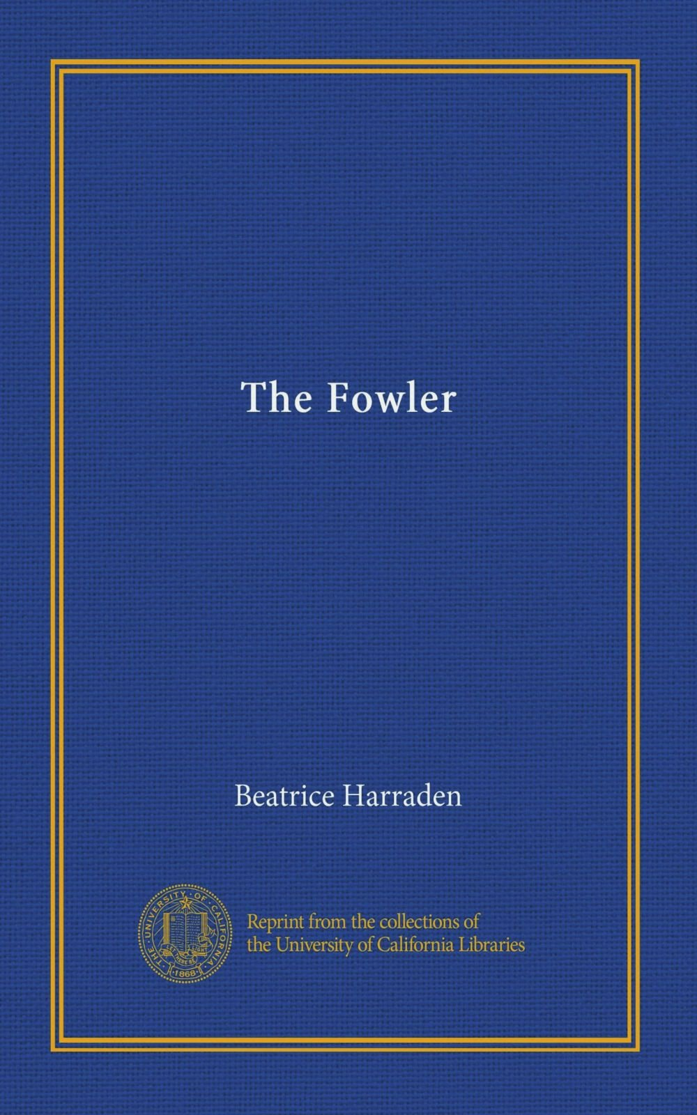 Read Online The Fowler ebook