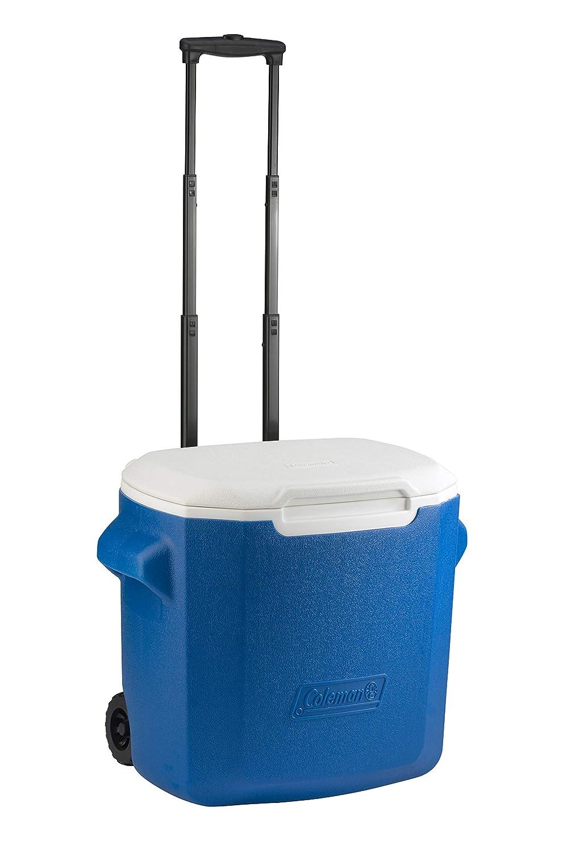 Coleman 28 QT Performance Wheeled Cooler Capacidad de 26 Litros Nevera Portatil y Rigida Porta Alimentos Nevera con Ruedas