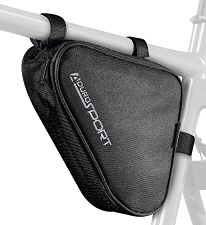 Aduro Sport Bicycle Bike Storage Bag Triangle Saddle Frame Strap-On Pouch for Cycling (  sc 1 st  Amazon.com & Amazon.com : Aduro Sport Bicycle Bike Storage Bag Triangle Saddle ...