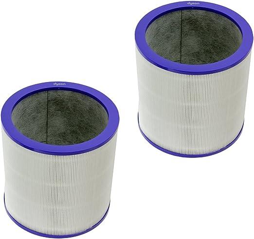Dyson Genuine Pure Cool Enlace Torre purificador de Aire 360 ° Cristal Filtro HEPA (Unidades 2 filtros): Amazon.es: Hogar