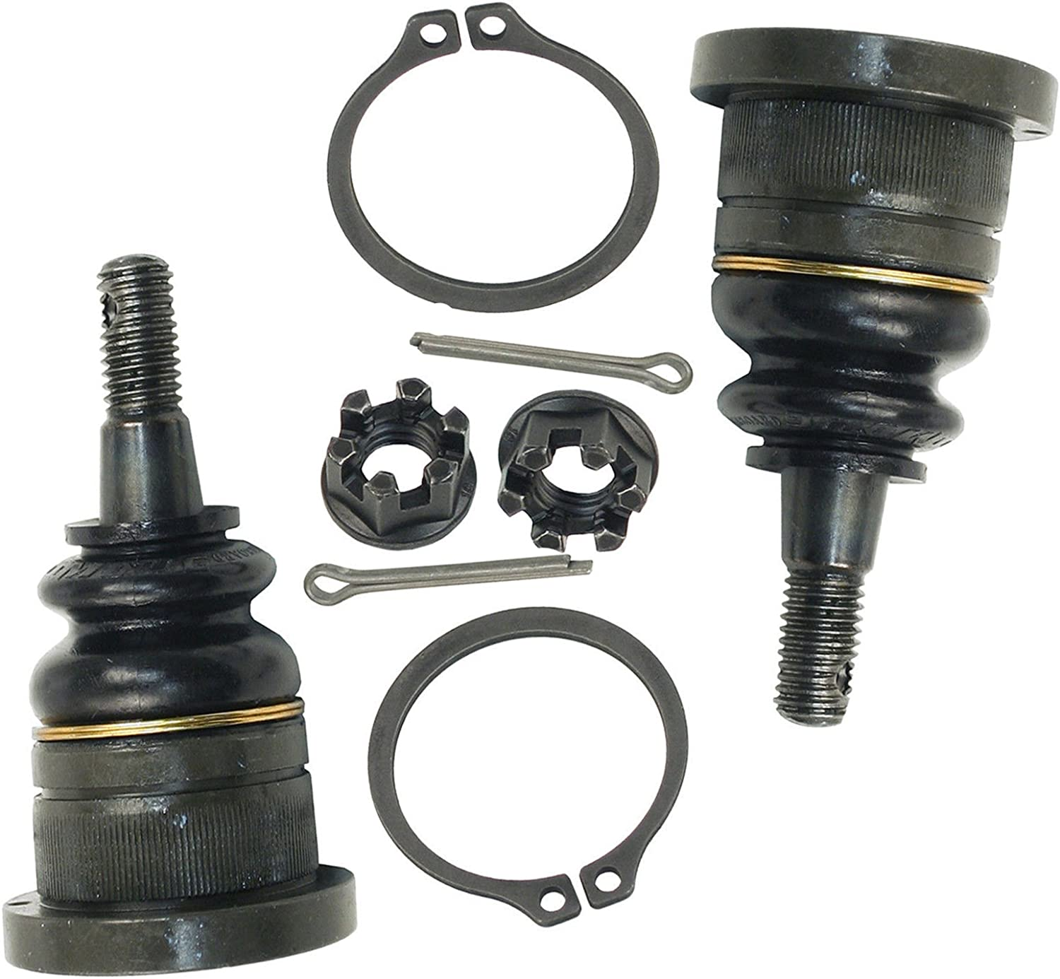 Detroit Axle 2 Both Brand New Driver /& Passenger Side Front Upper Ball Joint 10-Year Warranty