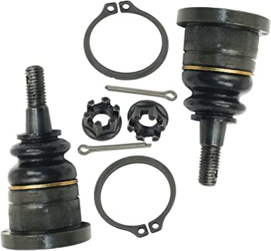 2 Detroit Axle Brand New Driver /& Passenger Side Front Lower Ball Joint 10-Year Warranty Both