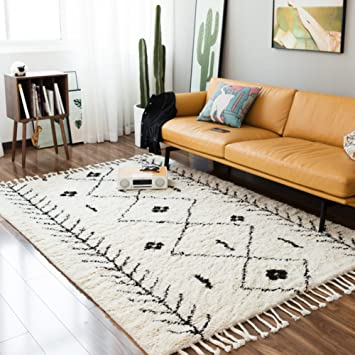Decorative Rugs Modern Carpet Rectangle Mats For Bedroom Living Room Study  Simple Morocco Nordic Classic Long