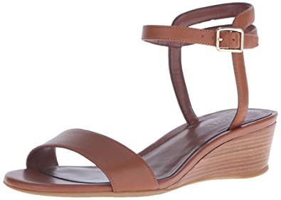 Cole Haan Womens Elsie Slide 40 II Wedge Sandal, Acorn, 7.5 UK