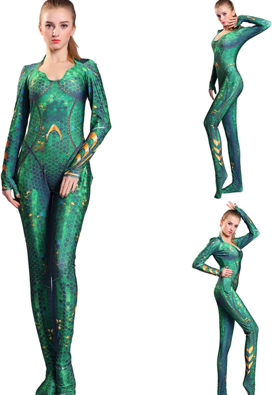 Amazon.com: Aiyee Mera Disfraz de la Reina Atlanna para ...