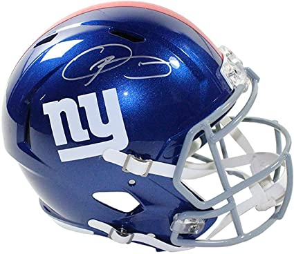 52b2cfa85756f Amazon.com: ODELL BECKHAM JR. Autographed New York Giants Speed ...