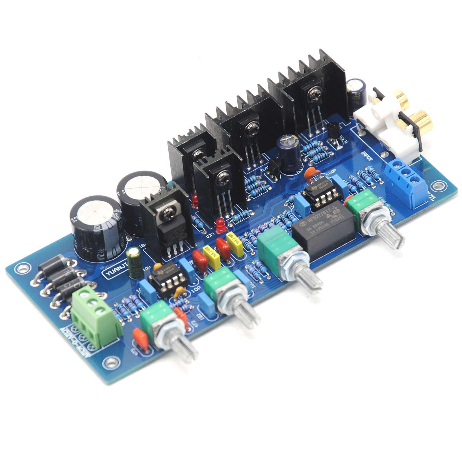NE5532 Class A Tone Board Finished Board Volume Control Board 2×3300UF by Jolooyo