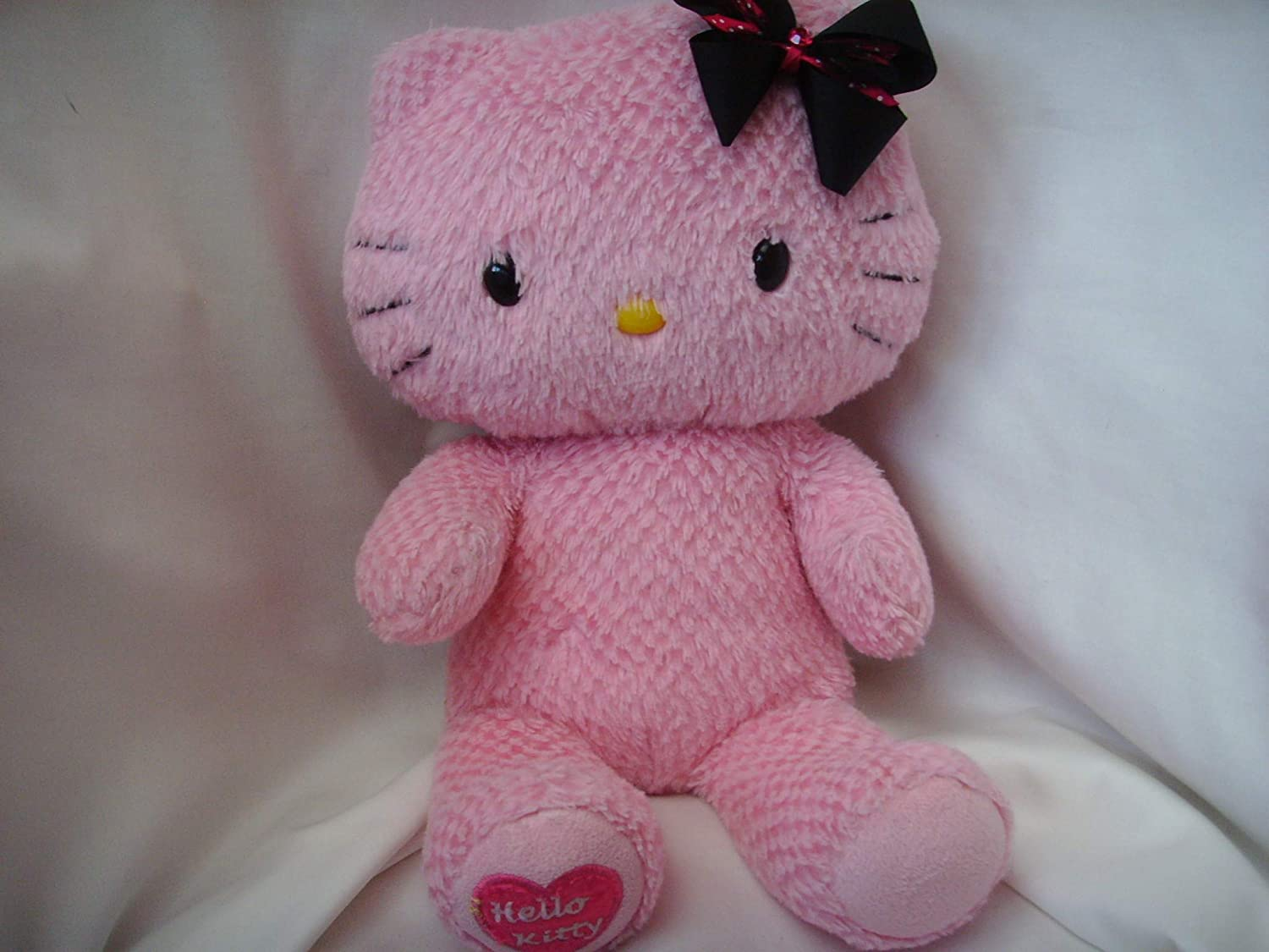 12in New British Hello Kitty with Bow Plush
