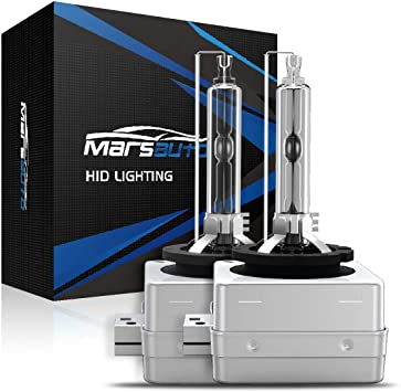 2Pcs D3S Xenon 35W HID Headlight Bulbs For Philips XenStart