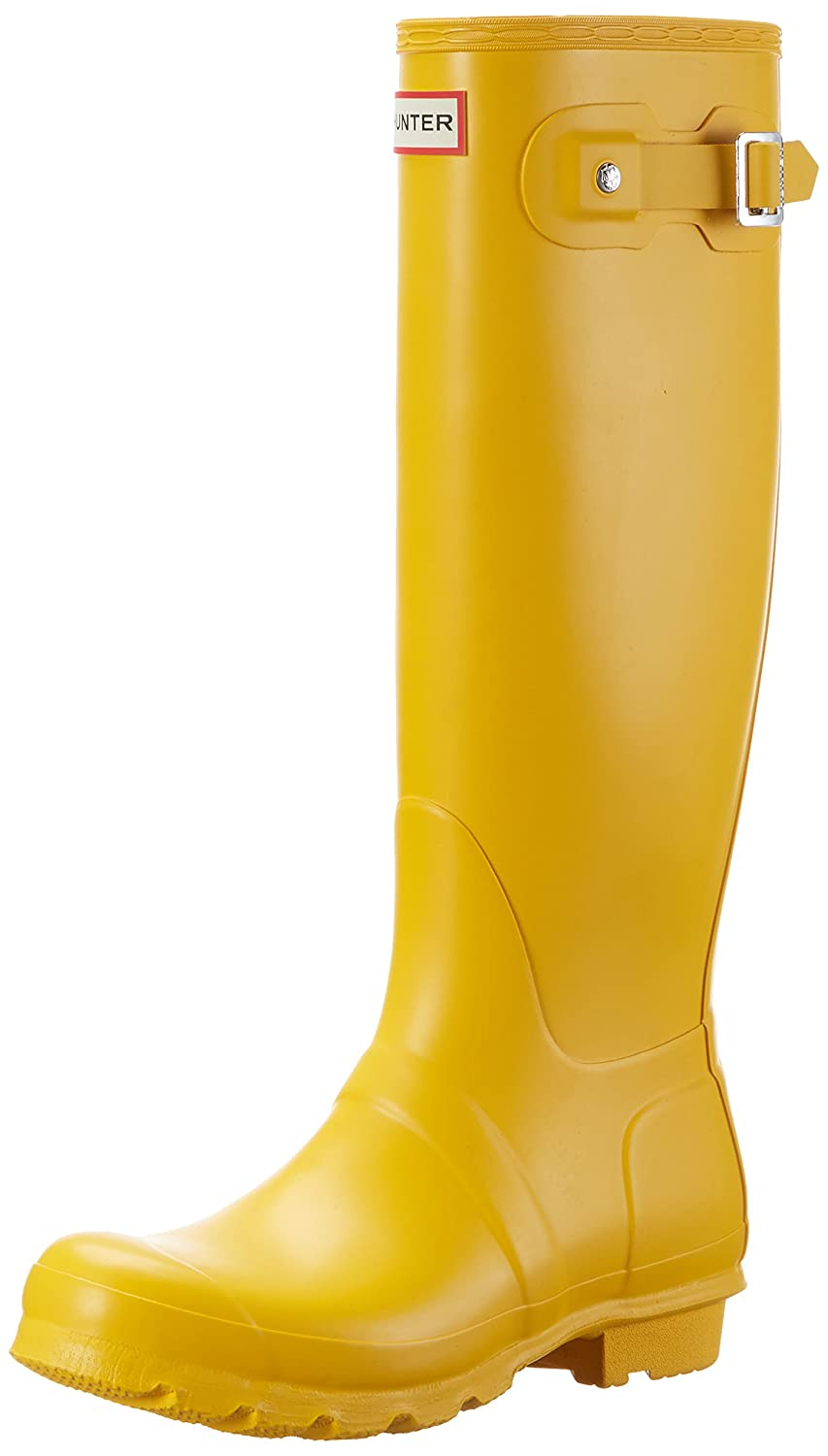 Hunter Women's Original Tall Rain Boot B01N6NBZBL 11 B(M) US|Yellow