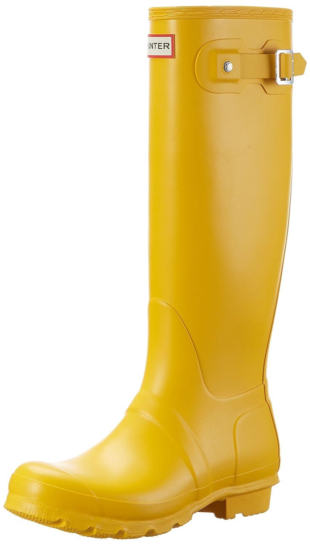 Mattte Yellow Hunter Women's Original Gloss Snow Boot