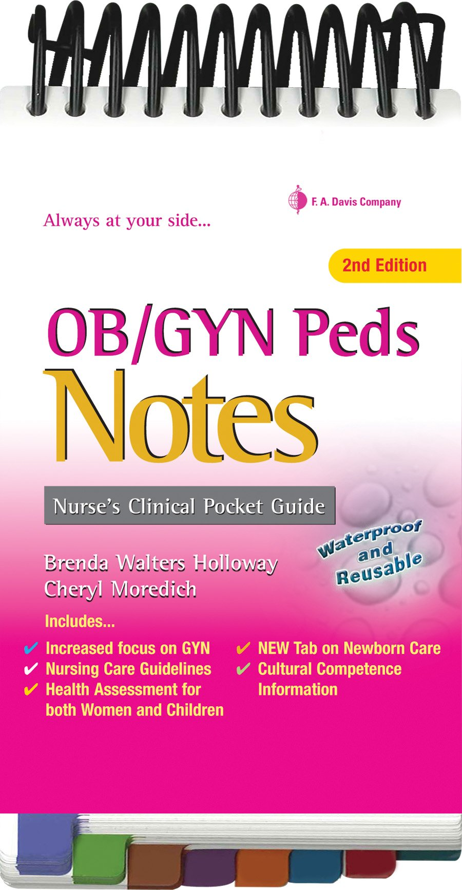 Obgyn And Peds Notes Nurses Clinical Pocket Guide Brenda Walters