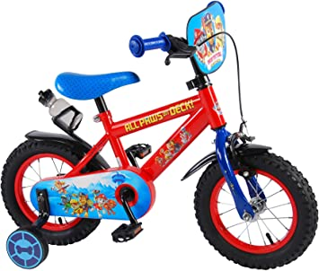 .paw patrol Bicicleta Infantil Niño Chico 12 Pulgadas Freno ...