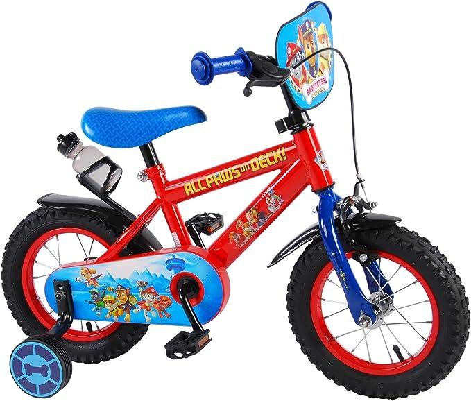 paw patrol Bicicleta Infantil Niño Chico 12 Pulgadas Freno ...